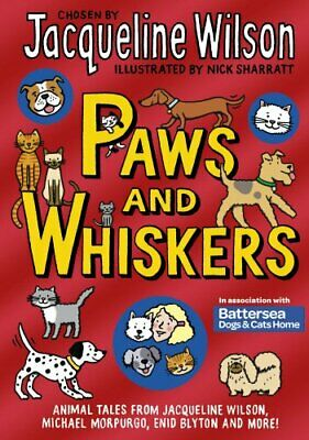 3 JACQUELINE WILSON Hardback books - Paws and Whiskers - The Diamond