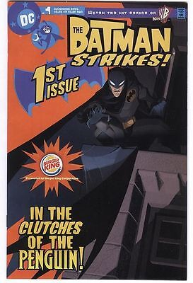 BATMAN Strikes 1 DC Comics Exclusive Burger King comic book Rare Variant cover