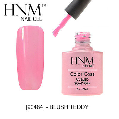 HNM Colour Gel Nail Esmaltes de uñas Shellac Soak Off UV LED Lacquer Blush Teddy