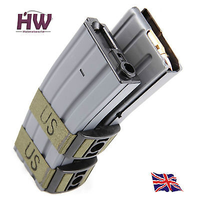 AIRSOFT M SERIES AEG MAGAZINE MAG BLACK BATTLEAXE 1000 RDS Electric SOUND ACT UK