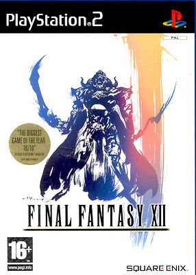 Final Fantasy XII For PAL PS2 (New & Sealed)