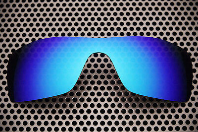 New Volt Polarized Blue Replacement Lenses for Oakley Batwolf