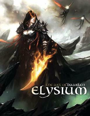 Elysium: The Art of Daarken by Mike Lim Hardcover Book (English)