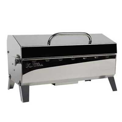 Kuuma Stow N Go 160 Barbecue Gas Grill 58130 Stainless Steel Marine Boat RV