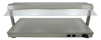 NEW ACE 1.2m Heated top & Bottom Large Flat Hotplate with 4 Quartz Lamp Display