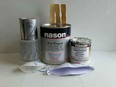 Victory red Dupont/Nason 2K ful thane single stage acrylic urethane auto paint