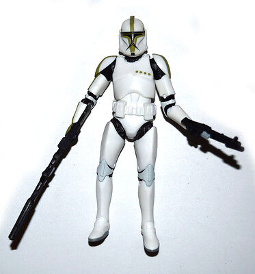 STAR WARS CLONE TROOPER WITH FIRING JET PACK LOOSE UK