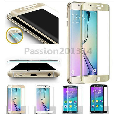 Full Cover Tempered Glass Screen Protector For Samsung Galaxy S6 S7 Edge S8 Plus