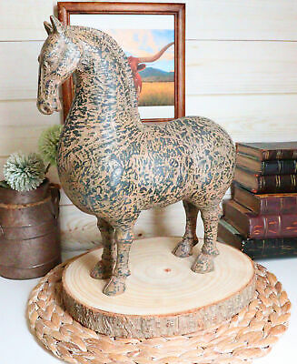 Large Terracotta Ancient Chinese Han Dynasty Prosperity Horse Equine Figurine