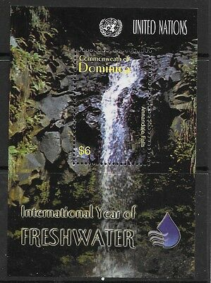 Dominica Sgms3343 2003 Year Of Freshwater  Mnh