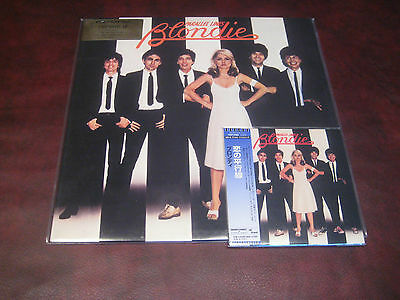 BLONDIE Parallel Lines Rare U.K 180 Gram LP +JAPAN OBI REPLICA CD DELUXE PACKAGE