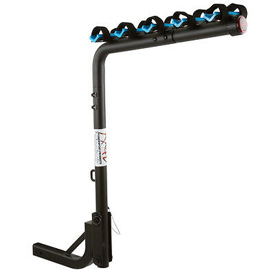 5-Bike Hitch Mount Rack with 2-Inch Receiver Tilting Option