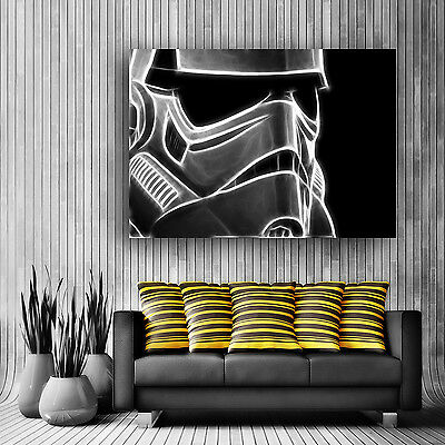 Large Stormtrooper / Star Wars Movie Poster Print / Wall Art / Large Or Xlarge