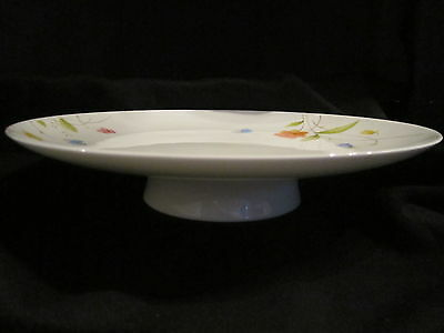 Mikasa - JUST FLOWERS - Footed Cake Plate