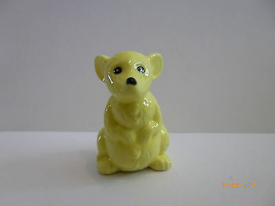 Wade- Whimsie Yellow Mouse