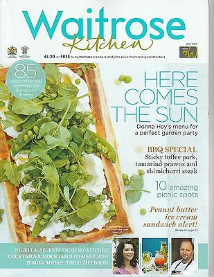 Waitrose Kitchen Magazine - July 2015 - Here Comes Summer