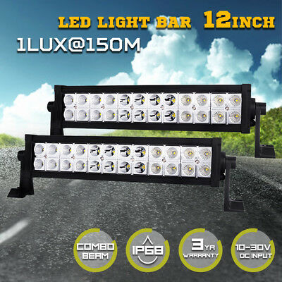 23inch Philips 540w LED Light Bar Spot Flood Combo Offroad Work Driving 4WD