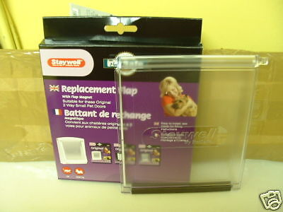 700S PETSAFE / STAYWELL SPARE  DOOR FOR 2 WAY FLAP for Large.cat/Small dog