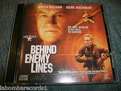 Behind The Enemy Lines - 2 Video Cd - Gene Hackman - Owen Wilson