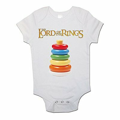 Lord Of The Rings Baby Bodysuit Funny Babygrow