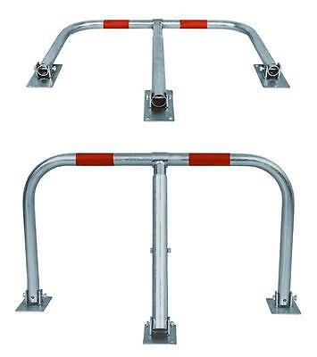 Heavy Duty Barrier Car Lockable Parking  Gate Safety Security Guard Stand