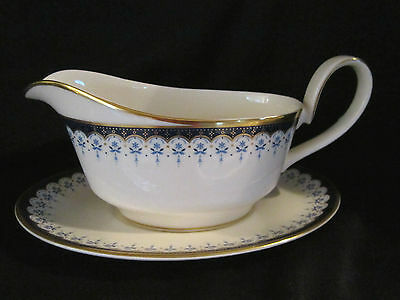 Minton CONSORT- Gravy Boat & Stand BRAND NEW