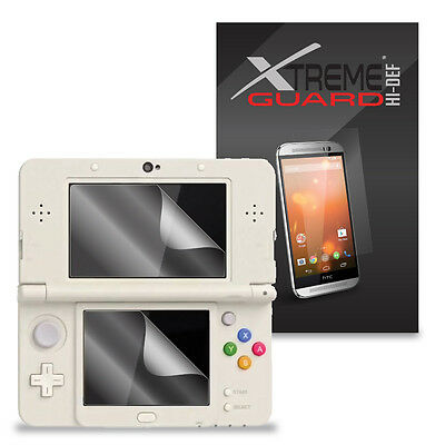 6-Pack Clear HD XtremeGuard HI-DEF Screen Protector Skin For Nintendo 3DS (2015)