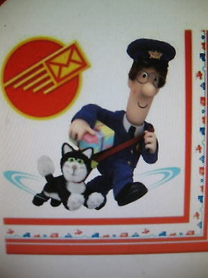 16 Postman Pat Paper Napkins Party Birthday Boys Serviettes Tableware New Amscan