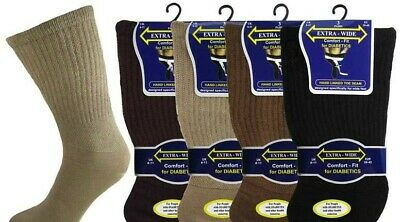 Extra Wide Mens Non Elastic Socks Mens Diabetic Extra Wide Non Elastic Socks