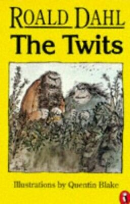 The Twits (Puffin Books) by Dahl, Roald Paperback Book The Cheap Fast Free Post