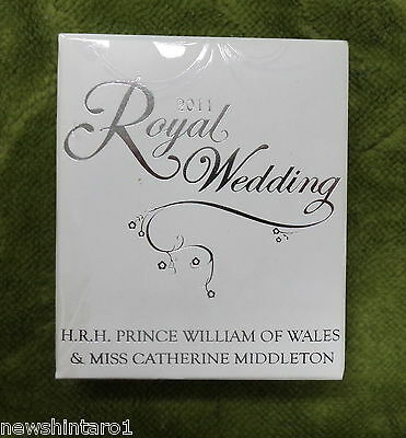#c20.  2011  Royal Wedding Silver Proof Coin