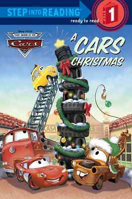 A Cars Christmas (Step Into Reading - Level 1 - Quality - Paperback NEW Lagonegr