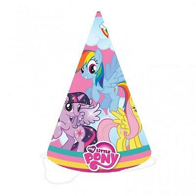 My Little Pony Party Cone Hats x 8