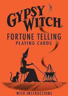 Gypsy Witch Fortune Telling Cards by Marie Anne Adelaide Lenormand (English) Fre