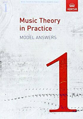Music Theory in Practice Model Answers, Grade 1 (Music The... by ABRSM Paperback