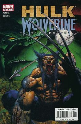 Hulk/Wolverine Six/6 Hours #1-4 Set/Bruce Jones/Scott Kollins/2003 Marvel Comics