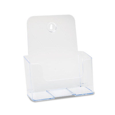 deflect-o DocuHolder for Countertop or Wall Mount Use, Clear - DEF74901