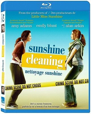 Sunshine Cleaning (Blu-ray)  Amy Adams, Alan Arkin, Emily Blunt NEW