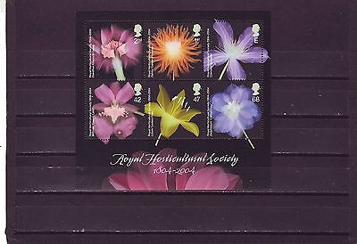 Great Britain - Sgms2462 Mnh 2004 Bicentenary Royal Horticultural Society