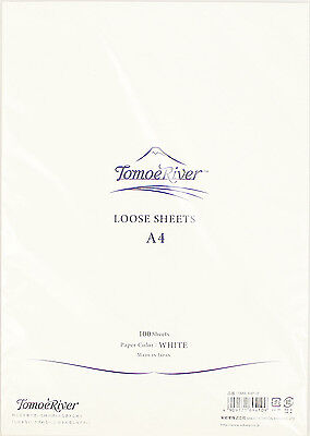 """Tomoe River A4 (8-1/4"""" x 11-3/4"""") Loose Sheets (100), White"""