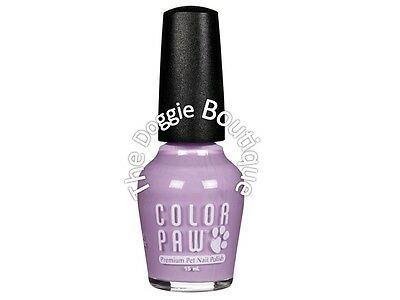 Dog Cat Nail Polish - Lovely Lavender - Color Paw - Premium Fast Drying