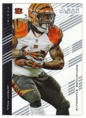 2015 Panini Clear Vision Sophomore Standouts #61 Jeremy Hill Bengals