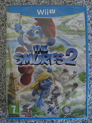 The Smurfs 2 For PAL Wii U (New & Sealed)