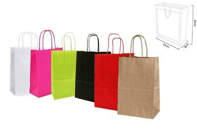 Extra Small - Birthday Party Gift Bags / Paper Favour Loot Goody Bag 15x20+8cm