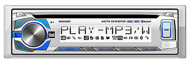 Dual MXD420BT Marine/Boat CD/MP3 Player Receiver With Bluetooth/USB/Aux+Remote
