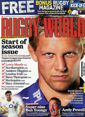 RUGBY WORLD MAGAZINE October 2010