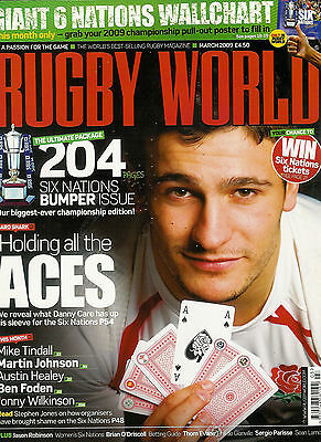 RUGBY WORLD MAGAZINE March 2009