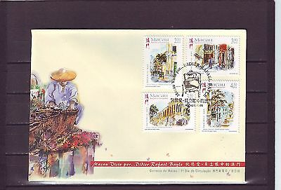 Macao/macau - Sg1071-1074 Paintings Of Macao 11/11/98 First Day Cover - Fdc
