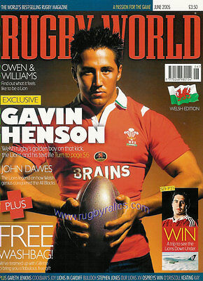RUGBY WORLD MAGAZINE June 2005
