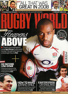 RUGBY WORLD MAGAZINE February 2009